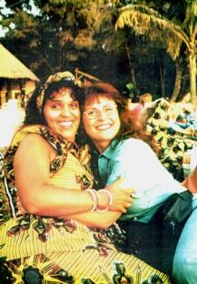 My dear friend Margrit in Senegal....