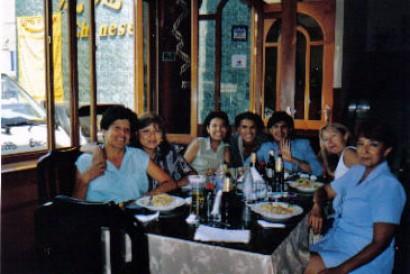 meine beste Freundinnen in Peru