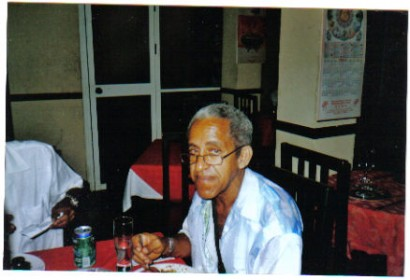 Yemaya is now together with you! Rest in peace my dear godfather OMI DINA...!